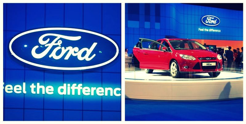 Ford motor show