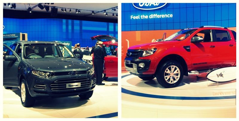 Ford motor show 2