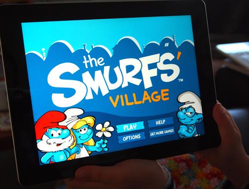 Smurf-iPad