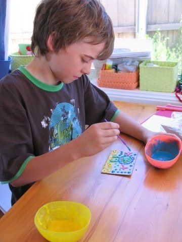 Puffpaint kids activity
