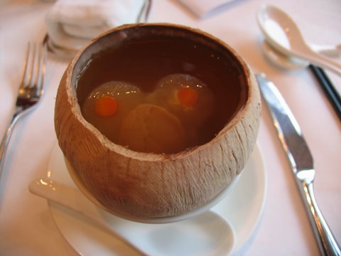 Hong kong disneyland hotel lunch food