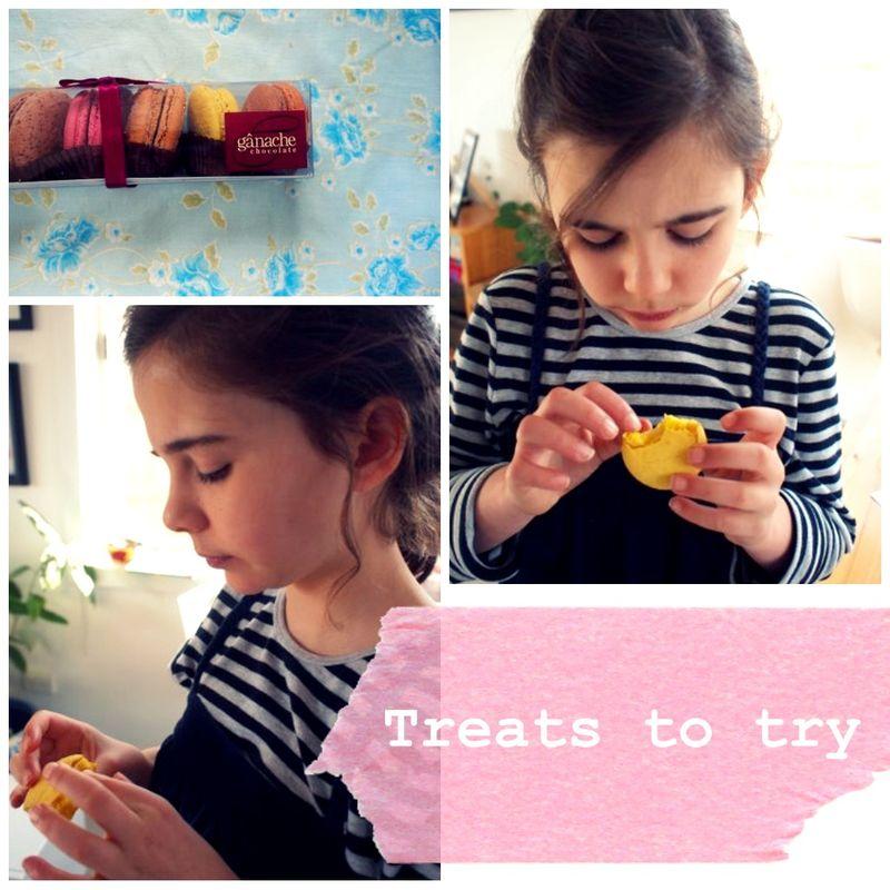 Macaron treats