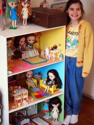 Blythe doll house