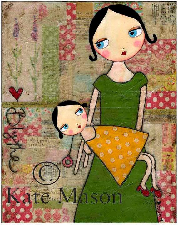 Blythe love print