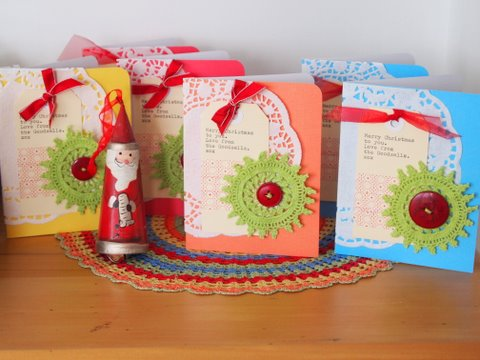 Christmas card tutorial step by step