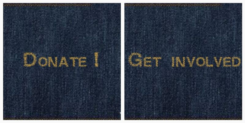Jeans for genes patch