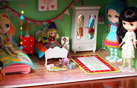 Blythe doll house - level 1