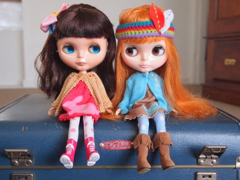 Blythe doll road trip