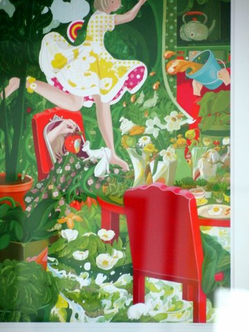Dreaming of green framed print