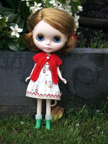 Knitted blythe cardigan