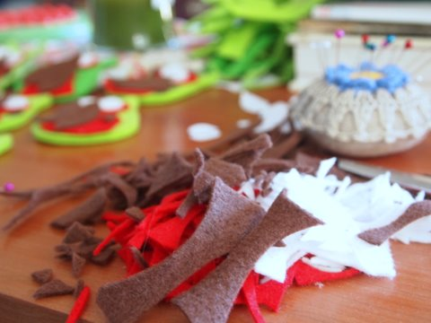 Handmade christmas decorations 1