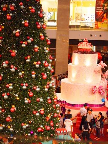 Kuala lumpur Christmas tree display