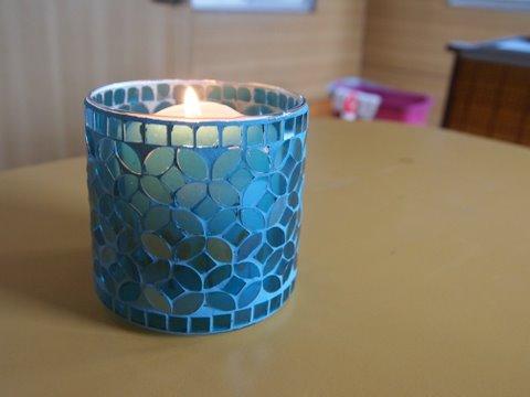 Caravan candle