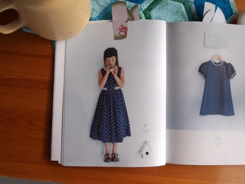 Girls style book inside