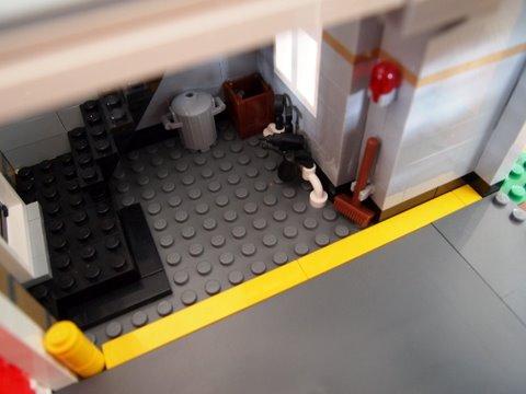 Modular lego fire brigade 6