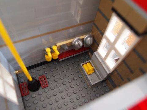 Modular lego fire brigade 5