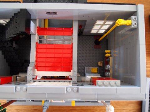 Modular lego fire brigade 2