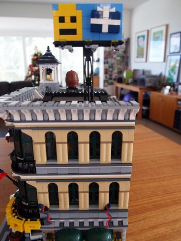 Modular lego emporium side view