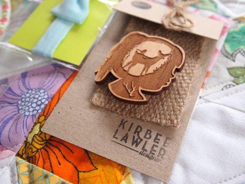 Kirbee lawler brooch