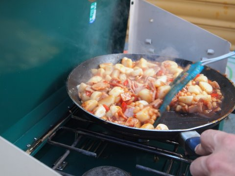 Good dinner ideas for camping