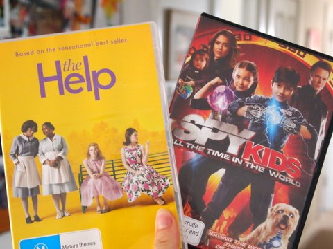 Watching dvds
