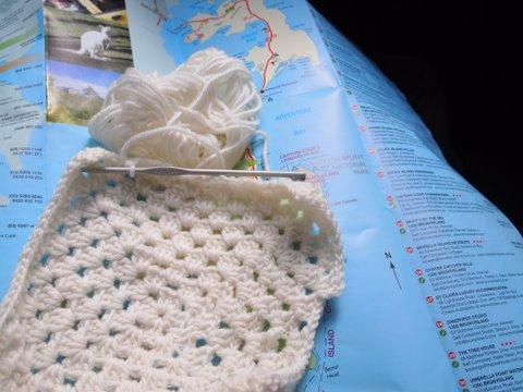 Bruny island crochet
