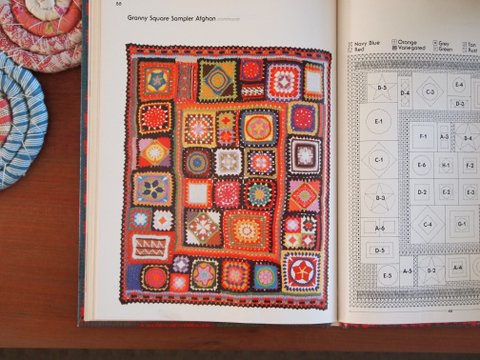 Inside better homes and gardens crocheting & knitting books