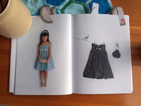 Girls style book inside pages