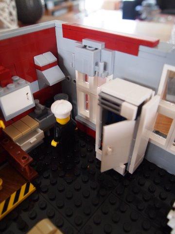 Modular lego fire brigade 8