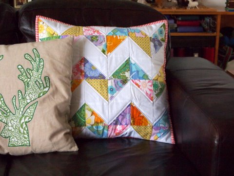 Handmade gift pillow