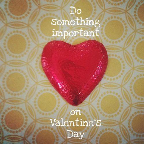 Valentine's Day pap smear