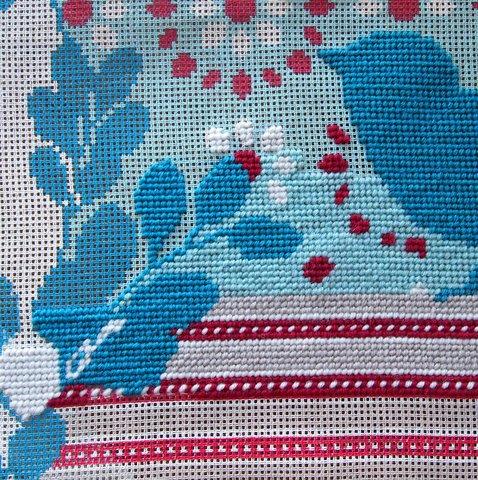 Needlepoint details