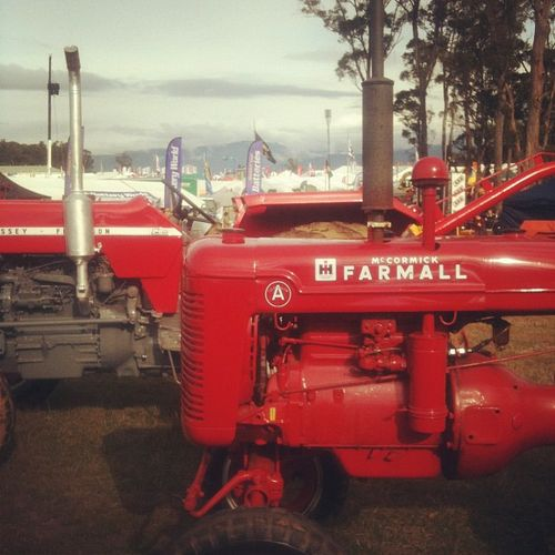 Agfest tractor 2012
