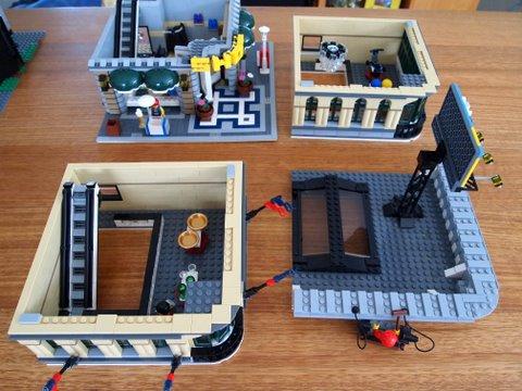 Modular lego emporium levels