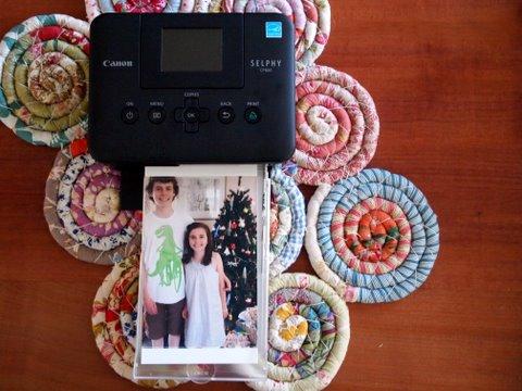 Selphy CP800 printer