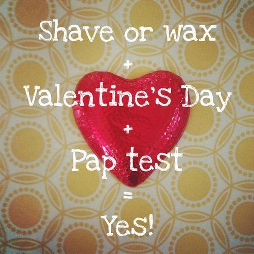 Valentine's Day Pap test formula