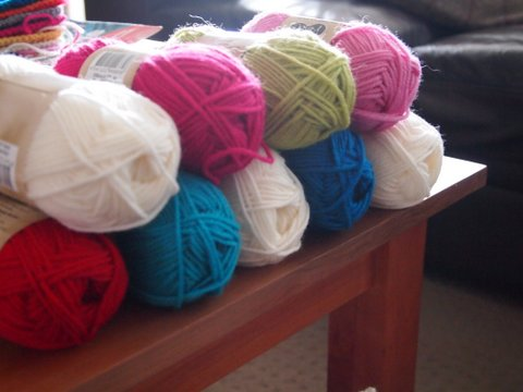 Crochet yarn 8  ply