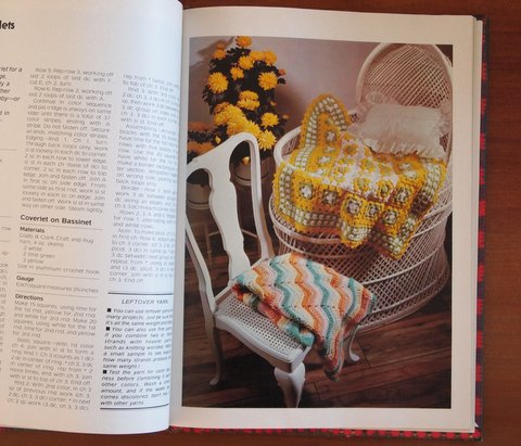 Crocheting and knitting book