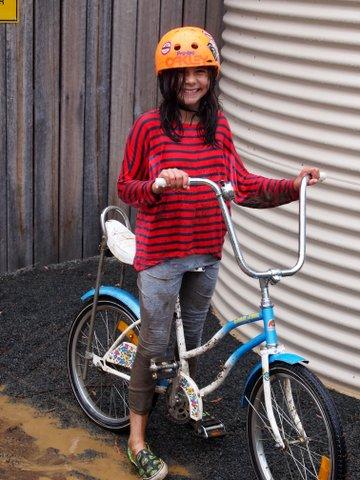 Easter camping bike