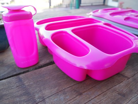 Goodbyn lunch box pink