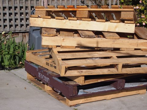 Pallets for pathway