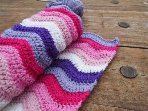 Ripple blanket baby