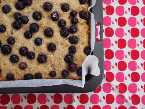 Blueberry & buttermilk cake recipe