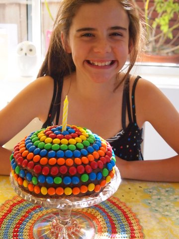 Turning twelve cake