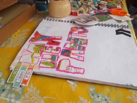 Art Journal Drawings Art Journal Idea