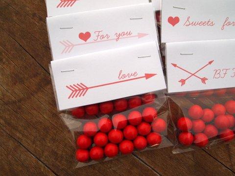 Valentine's day printable sweet treats