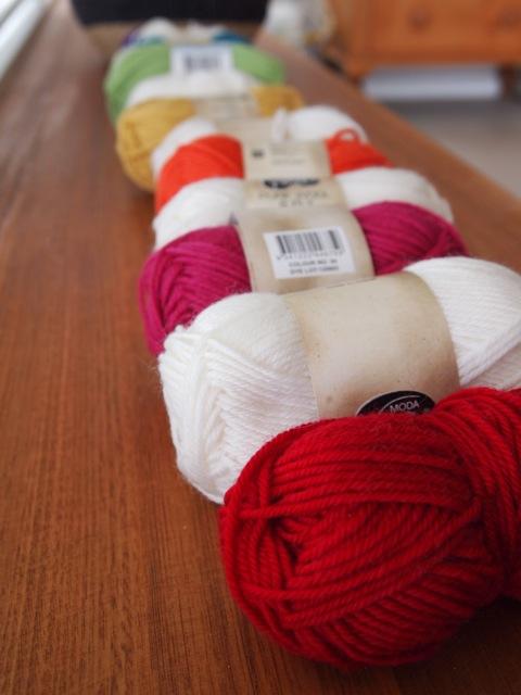 Ripple-along yarn