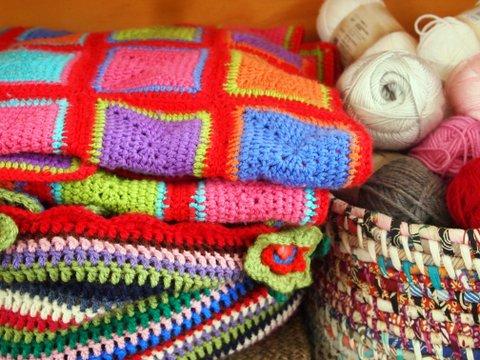 Bella's crochet blanket 4 ply