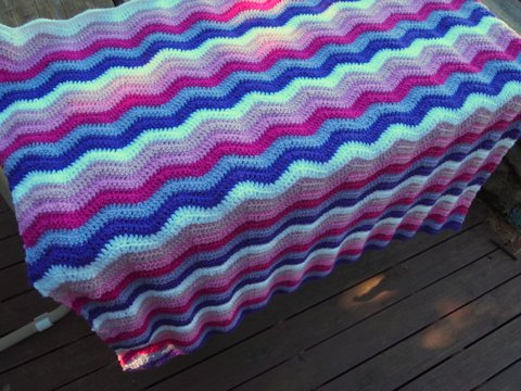 Baby ripple all finished