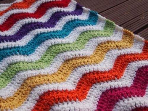 Ripple along blanket 5